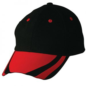 Black & Red Cap