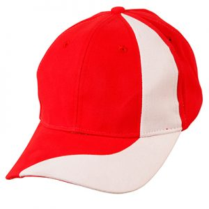 Red & White Cap