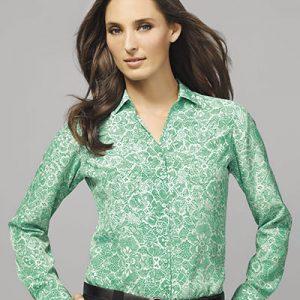 Green Solanda Blouse
