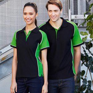 Green & Black Polo